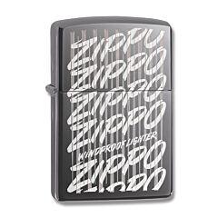 Zippo Black Ice Cascade Lighter