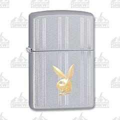 Zippo Chrome Playboy Bunny Lighter