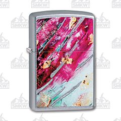 Zippo Pink Rust Patina Lighter