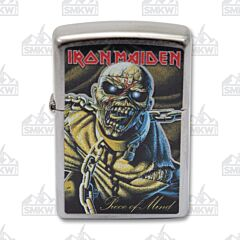 Zippo Iron Maiden Peace of Mind Lighter
