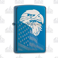 Zippo Blue Freedom Lighter