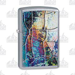 Zippo Iridescent Rust Patina Lighter