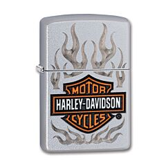 Zippo Harley-Davidson Chrome Flames Lighter
