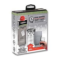 Zippo 6-Hour Refillable Hand Warmer Gift Set