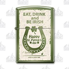 Zippo Eat Drink and Be Irish Lighter