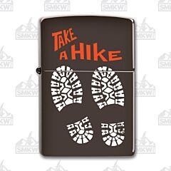 Zippo Brown Take A Hike Lighter