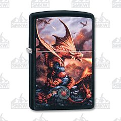 Zippo Anne Stokes Dragon Black Matte Lighter