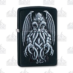 Zippo Black Matte Mythical Creature Lighter