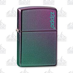 Zippo Iridescent Logo Lighter