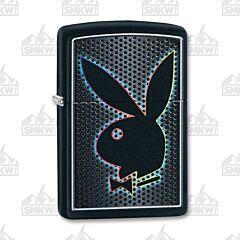 Zippo Black Matte Playboy Dots Lighter
