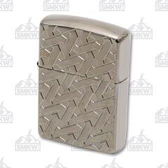 Zippo Geometric Weave Armor Lighter