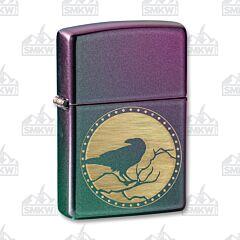 Zippo Iridescent Raven Lighter