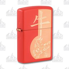Zippo Chinese Zodiac Year of the Ox Lighter