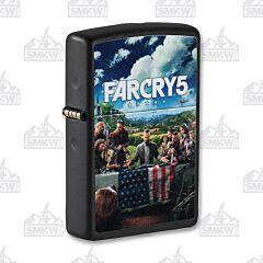 Zippo Black Matte Far Cry 5 Lighter