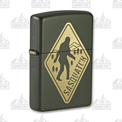 Zippo Sasquatch Crossing Lighter