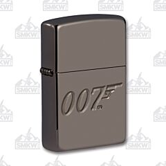Zippo James Bone Armor Black Ice Lighter