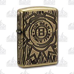 Zippo Jim Beam Barn Wood Lighter Limited Edition