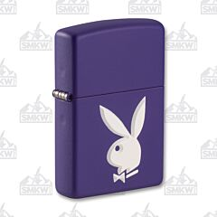 Zippo Purple Matte Playboy Lighter