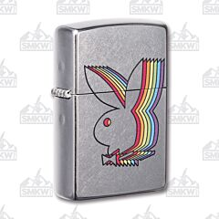 Zippo Playboy Street Chrome Lighter