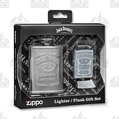Zippo Jack Daniels Lighter & Flask Gift Set