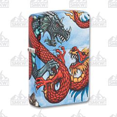 Zippo 540 Colored Dragon Challenge Lighter