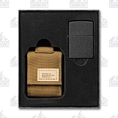 Zippo Sheath and Lighter Set Coyote