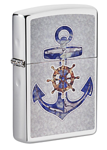 Zippo Anchor Chrome Lighter