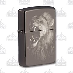Zippo Lion Black Ice Lighter