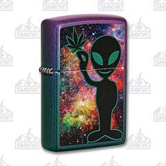 Zippo Alien Cosmic Weed Lighter