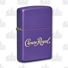 Zippo Crown Royal Purple Lighter