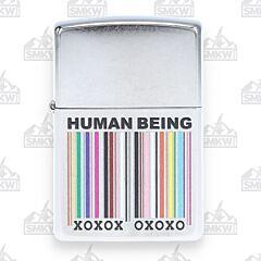 Zippo Being Human Street Chrome Lighter