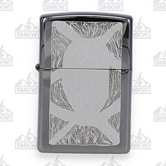 Zippo Black Ice Owl Lighter