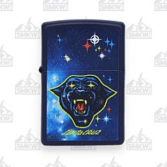 Zippo Navy Matte Starry-Eyed Panther Lighter