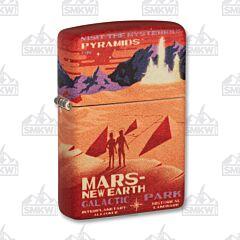 Zippo 540 Matte Mars New Earth Lighter