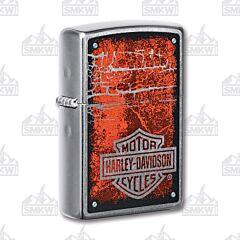 Zippo Harley-Davidson Street Chrome Logo Lighter
