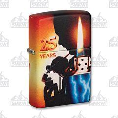 Zippo 540 Matte Mazzi 25 Years Lighter