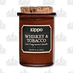 Zippo Whiskey & Tobacco Spirit Candle