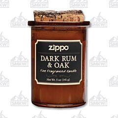 Zippo Dark Rum & Oak Spirit Candle