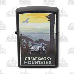 Zippo Great Smoky Mountains Jeep Lighter