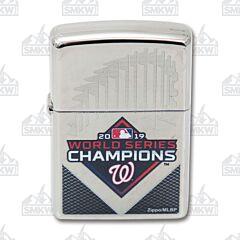 Zippo Washington Nationals World Series 2019 MLB Lighter