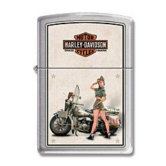 Zippo Harley-Davidson Army Pinup Lighter