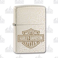 Zippo Harley Davidson Mercury Glass Lighter