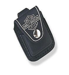 Zippo Harley-Davidson Black Leather Sheath