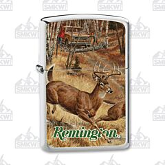 Zippo Remington Whitetails Cut Over Lighter