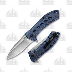 Zero Tolerance 0801TIBLU Sprint Run Blue Anodized Titanium Handle Bohler M390 Steel Blade