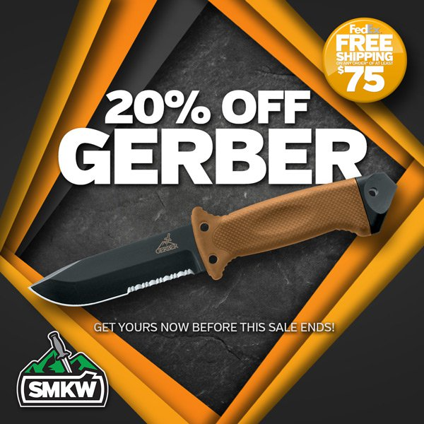 Save 20% Off Select Gerber! Offer ends 12/26/20 while supplies last.