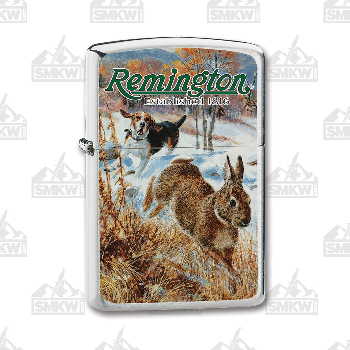 Remington Cottontail Rabbit Zippo Lighter