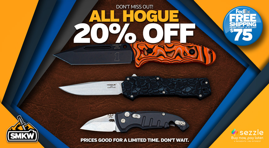 Don't miss our Hogue Sale! In-Stock Hogue 20% Off for a Limited Time. See disclaimer on right for restrictions.