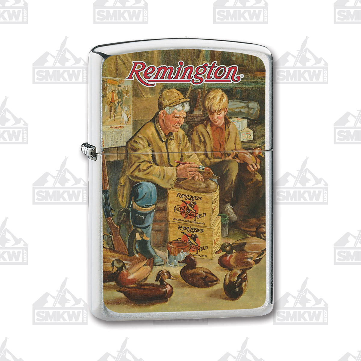 Remington Old Man Decoys Zippo Lighter